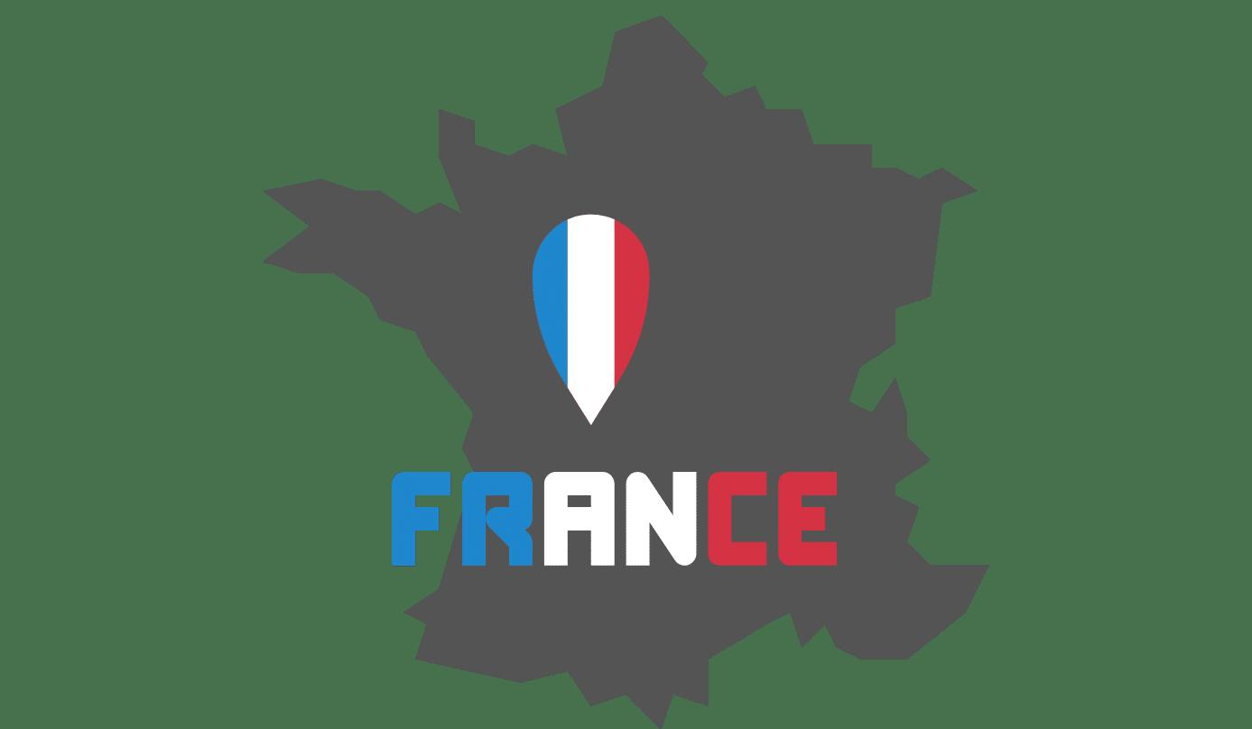 CARTE FRANCE ENCHERES